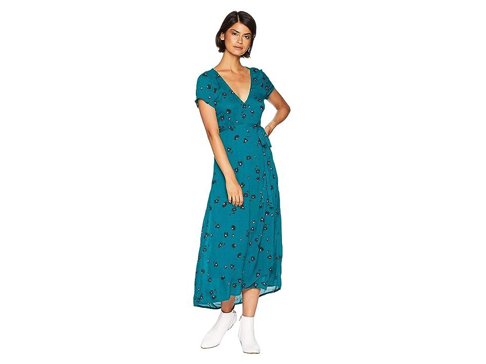 Billabong Wrap Me Up Dress (Deep Lagoon) Women