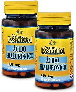 Ácido hialurónico 100 mg. 60 cápsulas (Pack 2 unid.)