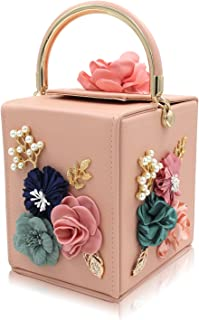 Best baby pink satin clutch bag Reviews