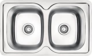 Einbauspüle Edelstahl Spülbecken Küchenspüle Edelstahlspüle Waschbecken Mercato ZHM 0200