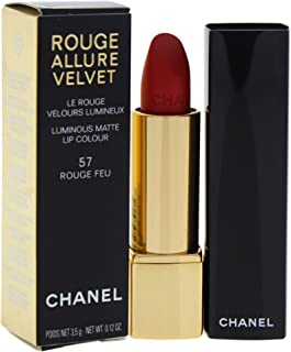Chanel Rouge Allure Velvet Luminous Matte Lip Colour - 57 Rouge Feu, 3.5 g