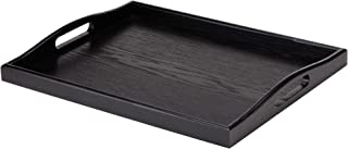 Best black serving tray wood Reviews