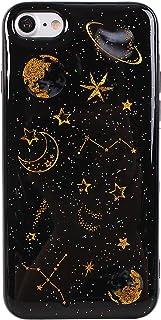 Funda iPhone 7 Carcasa iPhone 8 Gel Suave Silicona Protectora Asnlove Anti-Arañazos TPU Sparkle Brillar Glitter Ultra de...