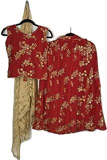 Festive Collection Wedding/Party Wear Indian Kids Dress Girls Lehenga Choli