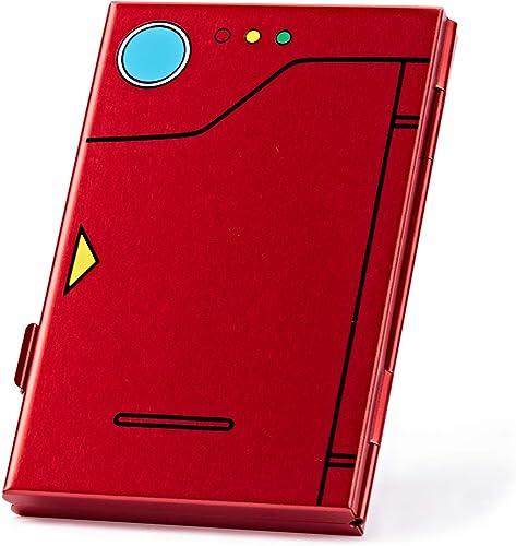 FUNLAB Premium Étui de jeux pour Nintendo Switch, Portable et Mince, Aluminum Rangement de jeux en Cartouche pour 6 J...