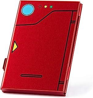 FUNLAB スイッチゲームカード収納ケース スイッチゲームカードケース Nintendo Switch専用 アルミ製 6枚収納可能 軽量 旅行用 外出用 レッド
