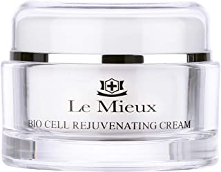 Sponsored Ad - Le Mieux Bio Cell Rejuvenating Cream - Triple Peptide Facial Moisturizer with Hyaluronic Acid, Squalane & R...