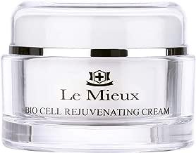 Le Mieux Bio Cell Rejuvenating Cream - Peptide Face Moisturizer with Squalane & Rose Hip (1.75 Ounces, 52 Milliliters)
