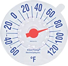 Low-Vision Windowpane Thermometer
