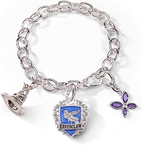 Noble Collection NN7712 Charm-Armband Harry Potter Lumos Ravenclaw