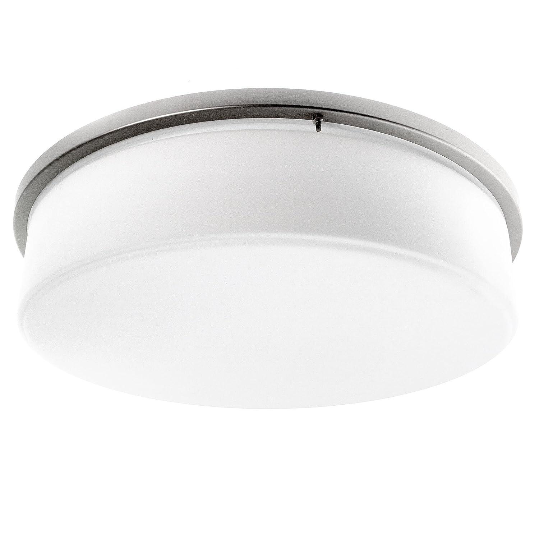 access-lighting c50081シリーズ天井マウントドラム器具、ホワイト、CFL