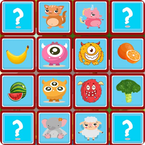 Matching Games: Match pictures to train your Memory & Brain