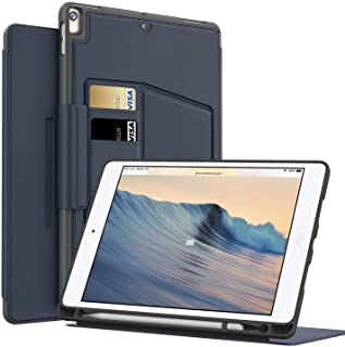 MEYIFEN skyddsskal för iPad Air 3 Generation/iPad Air 3 10,5 2019 med pennfodral, ultratunn, lätt, multi-vinkel-visning, b...