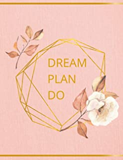 Dream.Plan.Do: Hourly planner rose gold