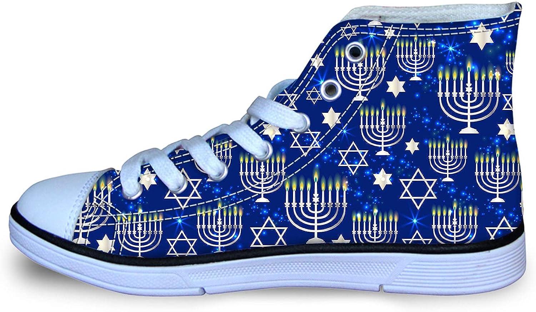 Happy Hanukkah Shining Menorah Popular Star Classic Girl's Popular products Boy's Adjusta