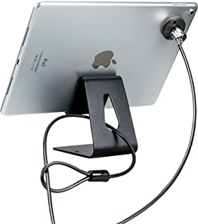 CTA Digital PAD-TDSK Tablet Desktop Security Kit with Display Stand and Theft-Deterrent Cable