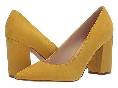 Nine West Cara Pump (Yellow) Women