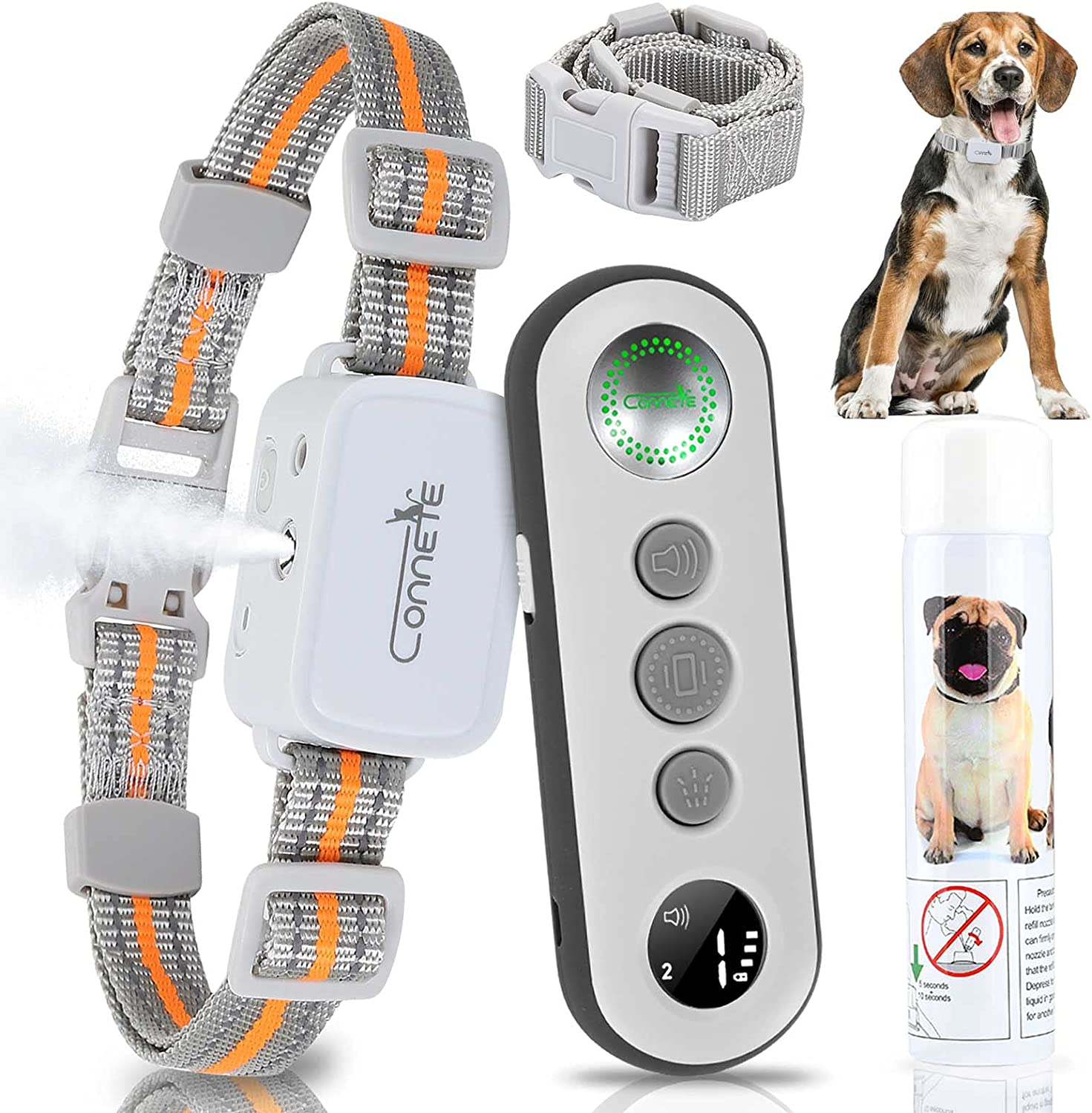 specialty shop Special Campaign connete Dog Collar for Large wi Citronella Bark Dogs