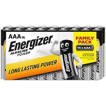Energizer 944251 - Pilas alcalinas AAA, pack de 16 unidades, multicolor: Amazon.es: Electrónica