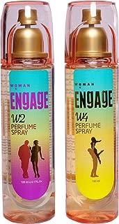 ENGAGE PERFUME SPRAY W2 & W4 COMBO 120ML (EACH 1)