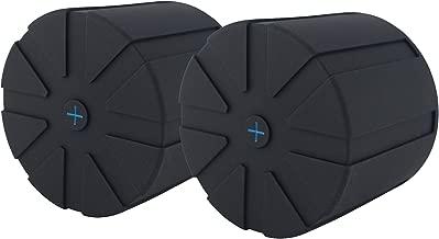 KUVRD - Original Universal Lens Cap - Fits 99% DSLR Lenses, Element Proof, Lifetime Coverage, 2-Pack