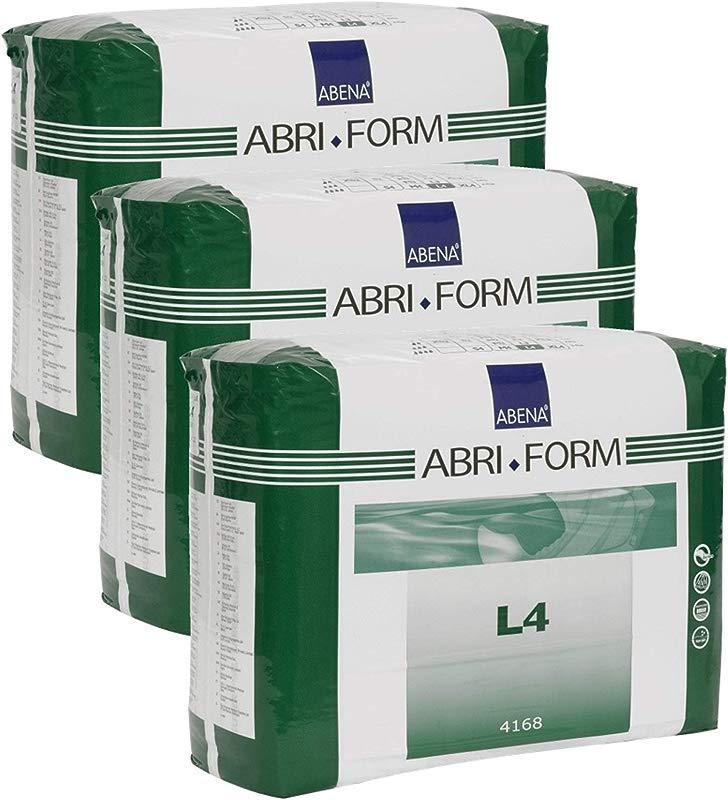 Abena Abri Form Comfort Briefs Large L4 36 Count 3 Packs Of 12