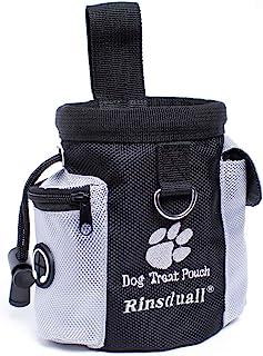 f/ür Training Welpenzubeh/ör Futterhalter Leckerli-Taschen f/ür Hunde zum Spazierengehen Grau