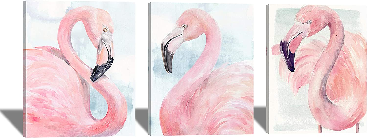 Brand Cheap Sale Venue Flamingo Canvas Wall Art for Kitche Limited time trial price Bedroom Room Living Bathroom