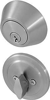 Honeywell Safes & Door Locks 8111309 Honeywell Deadbolt, Satin Nickel