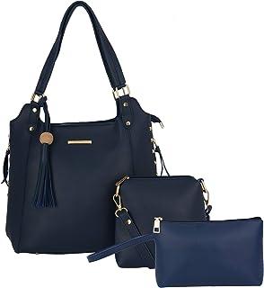 Lapis O Lupo Women's Tote Bag (Set of 3, Blue)
