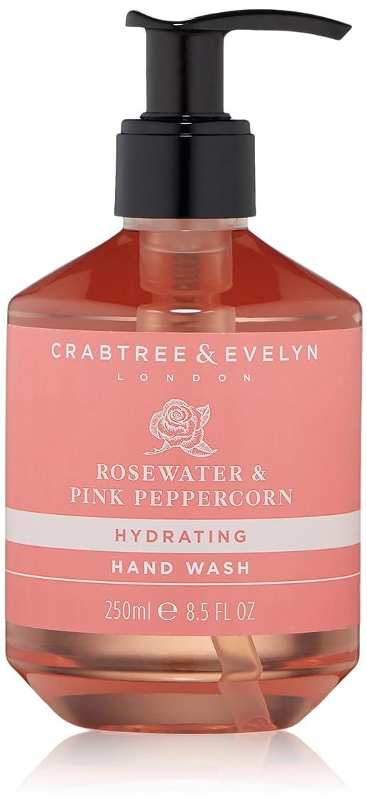 貫通する平凡挽くクラブツリー&イヴリン Rosewater & Pink Peppercorn Hydrating Hand Wash 250ml/8.5oz並行輸入品
