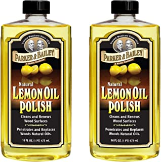 parker & bailey natural lemon oil polish