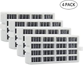 W10311524 4-PACK Air Filter Replacement for Whirlpool Refrigerator, Also Fits 2319308, W10335147, W10335147A, W10335147, W10315189, 1876318, AIR1, FreshFlow Air Filter, AP4538127, AH2580853, EA2580853