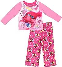 Trolls Movie Poppy Girls Fleece Pajamas (Little Kid/Big Kid)