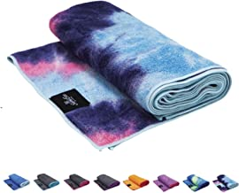 SUMI ECO ECO-FRIENDLY Extra Thick Yoga Mats Towel   Super Soft,Sweat Absorbent,Multicolored-Wicking Hot Yoga Rug for Pilates