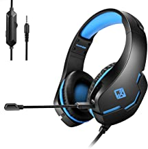 Cosmic Byte Stardust Headset With Flexible Mic For PS4 Xbox One Laptop PC Iphone And Android Phones Black Blue