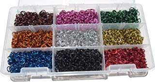 Jeweler Starter Kit Jump Rings Anodized Aluminum 5/32 20g American Chainmail