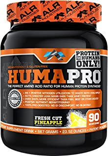 ALR Industries Humapro,  Protein Matrix Formulated for Humans, Waste Less. Gain Lean Muscle, Fresh Cut Pineapple, 667 Grams