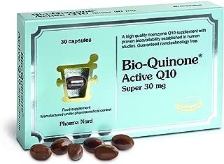 Bio-Quinone Pharma Nord Super Q10 Food Supplement 30Mg 60 Tablets