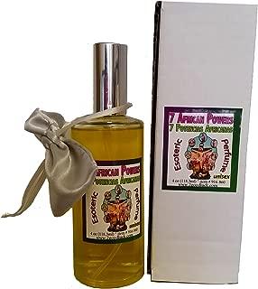 7 African Powers Perfume with Pheromones & Amulet for Rituals & Magic - Perfume Con Feromonas & Amuleto, Siete Potencias Africanas, Para Rituales Y Magia.