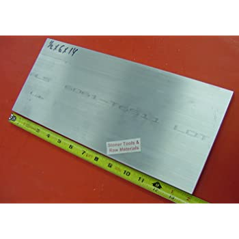 """1//2/"""" X 4 1//2/"""" circle   ALUMINUM 6061 Solid Plate Mill Stock .50 thick"""