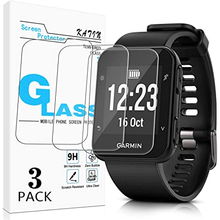 Savvies Screen Protector compatible with Garmin Lily Screen Protector Clear Protection Film 18 Pack