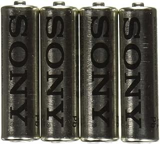 SONY S-SUM3NUB4A Heavy-Duty Carbon Zinc Batteries (AA, 4 Pack)