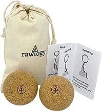 RAWLOGY Cork Massage Ball Set (Classic/Medium 2.5