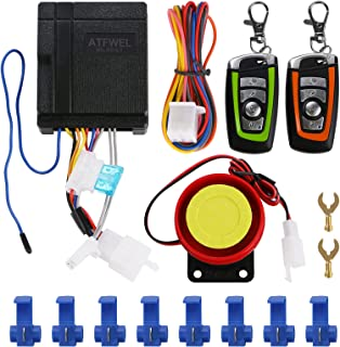 $22 » Sponsored Ad - ATFWEL Waterproof Motorcycle Alarm System 12V Motorcycle Anti-Theft Alarm Security System Remote Control Ho...