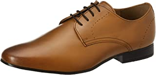 Amazon Brand - Symbol Men's Tan Leather Formal Shoes-8 UK (42 EU) (9 US) (AZ-ST-368A)