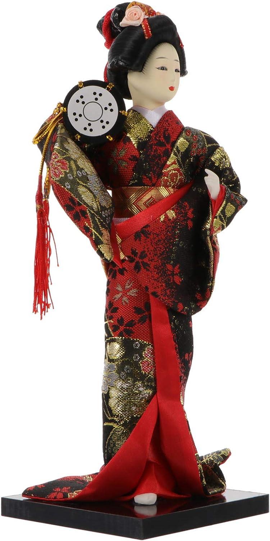 IMIKEYA NEW before selling ☆ Japanese Geisha Kimono Ornament Las Vegas Mall Asian Collec Doll