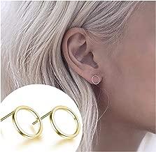 Best circle stud earrings Reviews