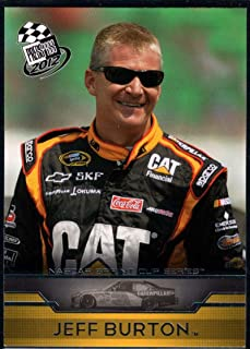 Racing Nascar 2012 Press Pass #5 Jeff Burton