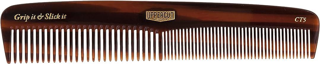 Uppercut Deluxe Pocket Tortoise Shell Brown Comb - CT5, 20.9 grams